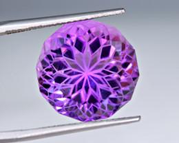 Flawless  14Carat Amethyst Top Fancy Cut Gemstone
