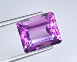 8.12 Carat Fluorite Unusual Rare Color Perfect Cut Gemstone@PAK