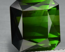 5.94 ct Natural Earth Mined  Green Tourmaline Unheated Mozambique