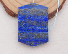 57.5 ct Natural Lapis Lazuli Pendant Bead,Natural Gemstone P0077
