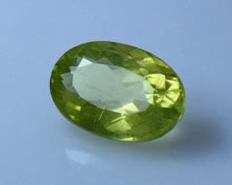 NR!!! 2.90 Cts Natural & Unheated~ Green Apatite Gemstone