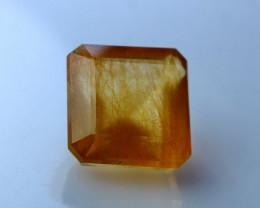 NR!!! 8.90 Cts Natural & Unheated~ Golden Rutilated Quartz Gemstone