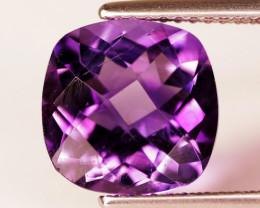 3.47 Cts Natural Purple Amethyst Loose Gemstone