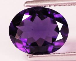 2.26 Cts Natural Purple Amethyst Loose Gemstone