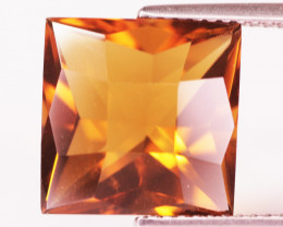 7.22 Cts Fancy Golden Yellow Color Natural Citrine Gemstone