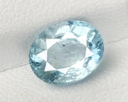 2.595 CT AQUAMARINE SEA BLUE 100% NATURAL UNHEATED