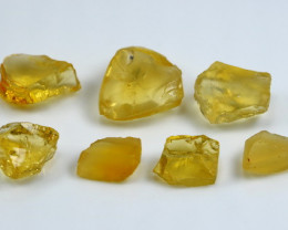 NR!!! 50.60 Cts Natural & Unheated~ Yellow Opal Rough Lot