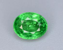 AAA Grade 1.10 ct Forest Green Tsavorite Garnet-K