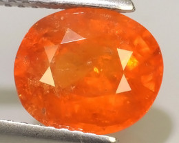 3.40 CTS OUTSTANDING! OVAL NATURAL SPESSARTITE GARNET!!