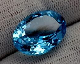 15CT BLUE TOPAZ BEST QUALITY GEMSTONE IIGC41