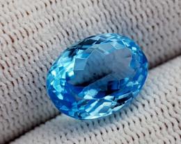8.15CT BLUE TOPAZ BEST QUALITY GEMSTONE IIGC41