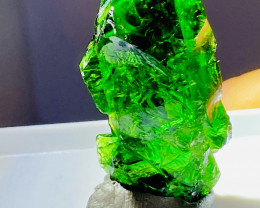 CHROME DIOPSIDE FROM RUSSIA- UNIQUE COLLECTION