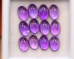 6.03Ct Natural Purple Amethyst Cabochon Lot B3222