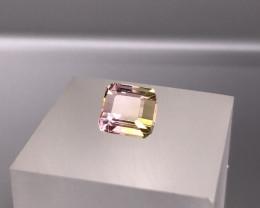 1.90 cts Natural  Bi Color Tourmaline Gemstone  SKU : 24