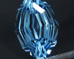 12.60Cts Sparkling Natural Sky Blue Topaz Marquise Custom  Cut Loose Gem VI