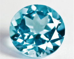 *No Reserve* 3.18 Carat Swiss Blue Color Natural Topaz Gemstone