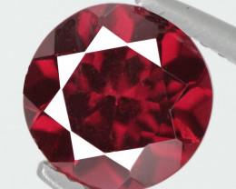 *No Reserve* 2.04 Cts Unheated Natural Pinkish Red Rhodolite Garnet Gemston
