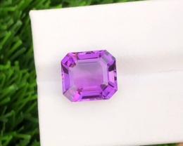 Natural Amethyst,  6.75 carats.