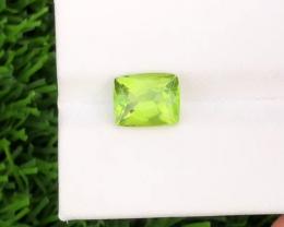 Natural Peridot, 3.30 carats.