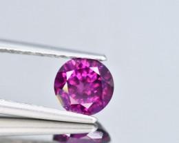 1.15 Crt Rhodolite Round Cut Gemstone~ Sri Lanka