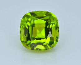 6.35 Carat Natural Grass Color Peridot Gemstone