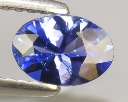 0.50 CTS EXCELLENT NATURAL RARE TOP QUALITY BLUE TANZANITE