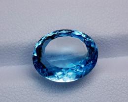 8Crt Blue Topaz Natural Gemstones JI37