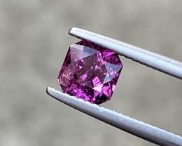 Natural Rhodolite 1.45 Cts Nice Color Gemstone