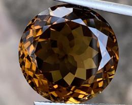 Natural Smoky Topaz Nice Color  Gemstone.