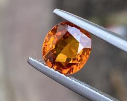 Natural Spessartite Garnet 1.83 Cts Superb Color  Gemstone