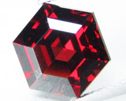 6.25Cts Genuine Natural Unheated Almandaine Garnet Octagonal Loose Gem REF