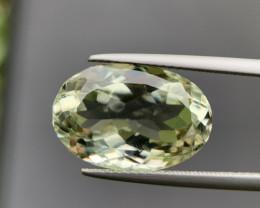 10.10 Ct Beautiful Prasiolite / Green Amethyst. Prasio-004