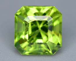 Ring Size  2.00 ct Asscher Cut Peridot