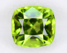 Bright Color 2.45  ct Peridot Perfect For Ring