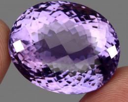 63.34 ct 100% Natural Earth Mined Unheated Purple Amethyst, Uruguay