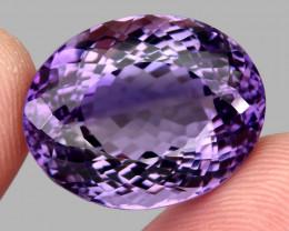 33.90  ct 100% Natural Earth Mined Unheated Purple Amethyst, Uruguay