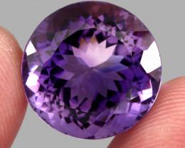23.26 ct 100% Natural Earth Mined Unheated Purple Amethyst, Uruguay