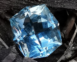 Aquamarine, 12.23ct gorgeous cut very nice colour!!
