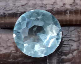 Aquamarine, my own cut stone not perfect but a great start into the future