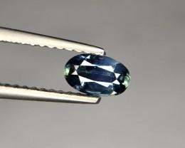 0.485 ct Superb Bi-Color Australian Parti Sapphire