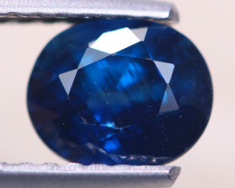 1.27ct Natural Blue Sapphire Oval Cut Lot D525