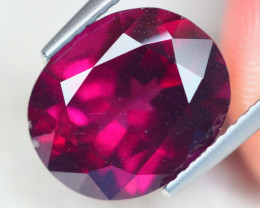 5.56ct Natural Rhodolite Garnet Oval Cut Lot D555