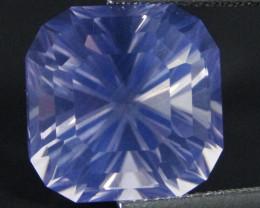 13.86Cts Genuine Amazing Square Radiant Cut  Lavender Color Quartz REF VIDE