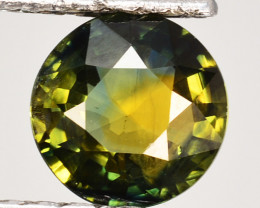 1.91 Cts Natural Sapphire Bi-Color Pretty Round Cut Australia