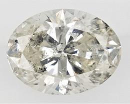 0.53 cts Fancy Colored Diamonds , Fancy Shaped Diamond