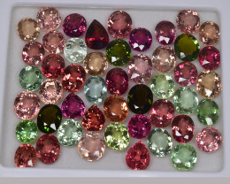 114.30 Cts  Fabulous Beautiful Color Natural Fancy Tourmaline