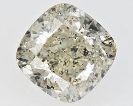 0.56 cts Fancy Colored Diamonds , Fancy Shaped Diamond