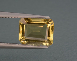 Natural  Heliodor  2.38  Cts, Top  Luster.