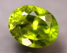 Peridot 2.96Ct Natural Pakistan Himalayan Green Peridot D1918/A10