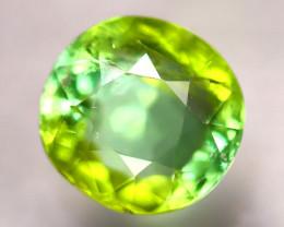 Tourmaline 1.53Ct Natural Bi Color Green Tourmaline D2112/B49
